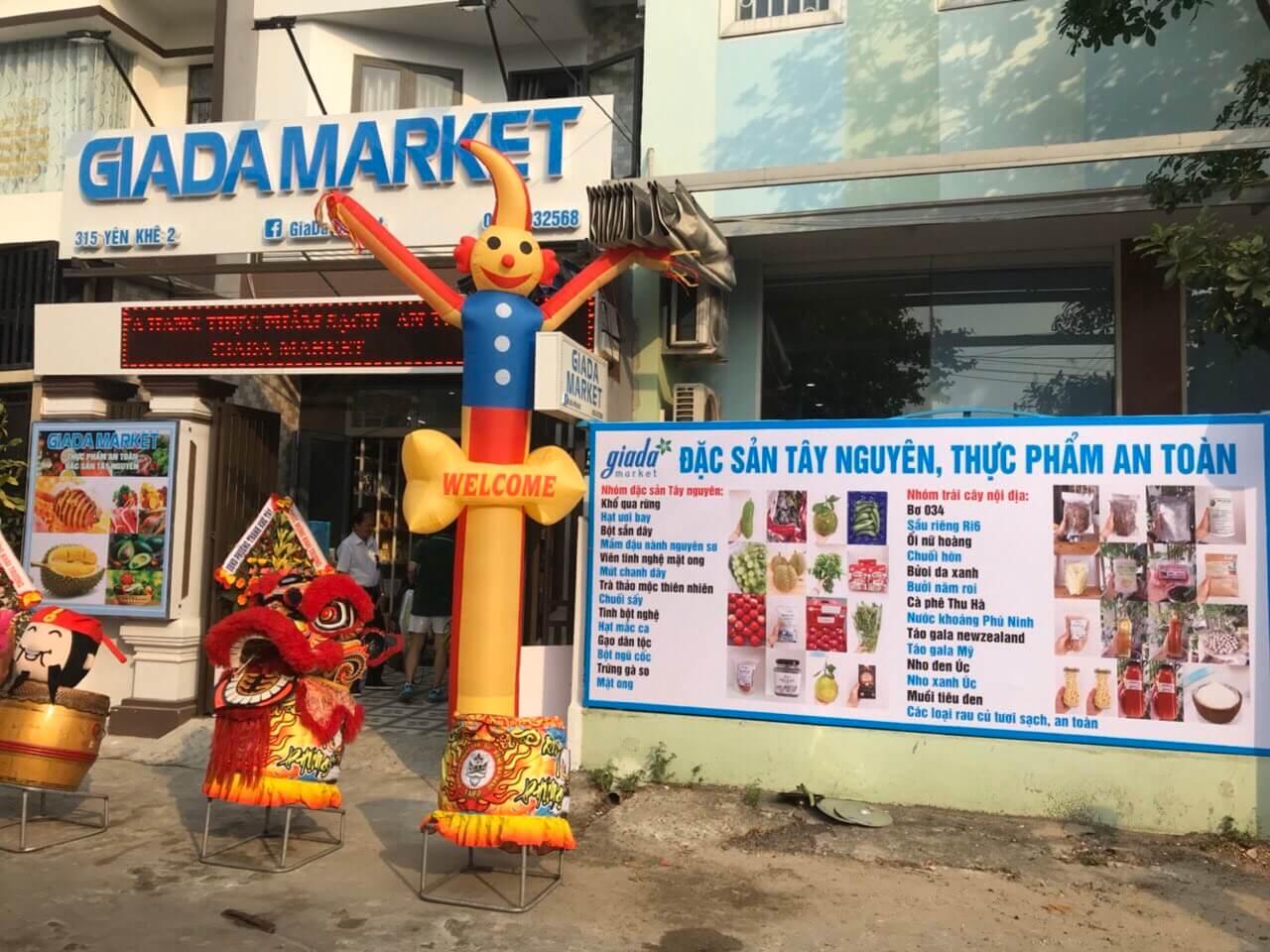 Thi công chuỗi siêu thị GIADA MAKET 4