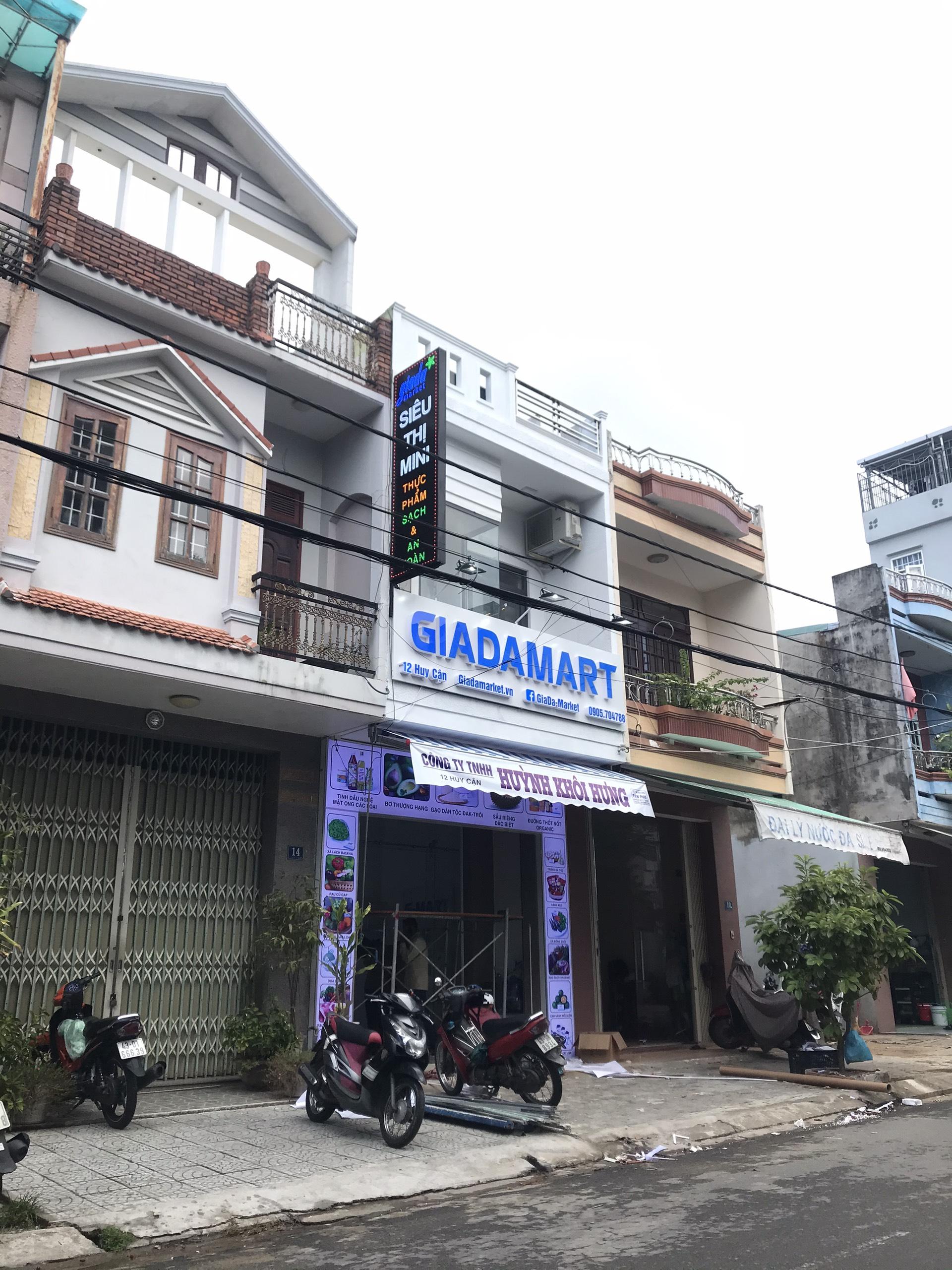 Thi công chuỗi siêu thị GIADA MAKET 2