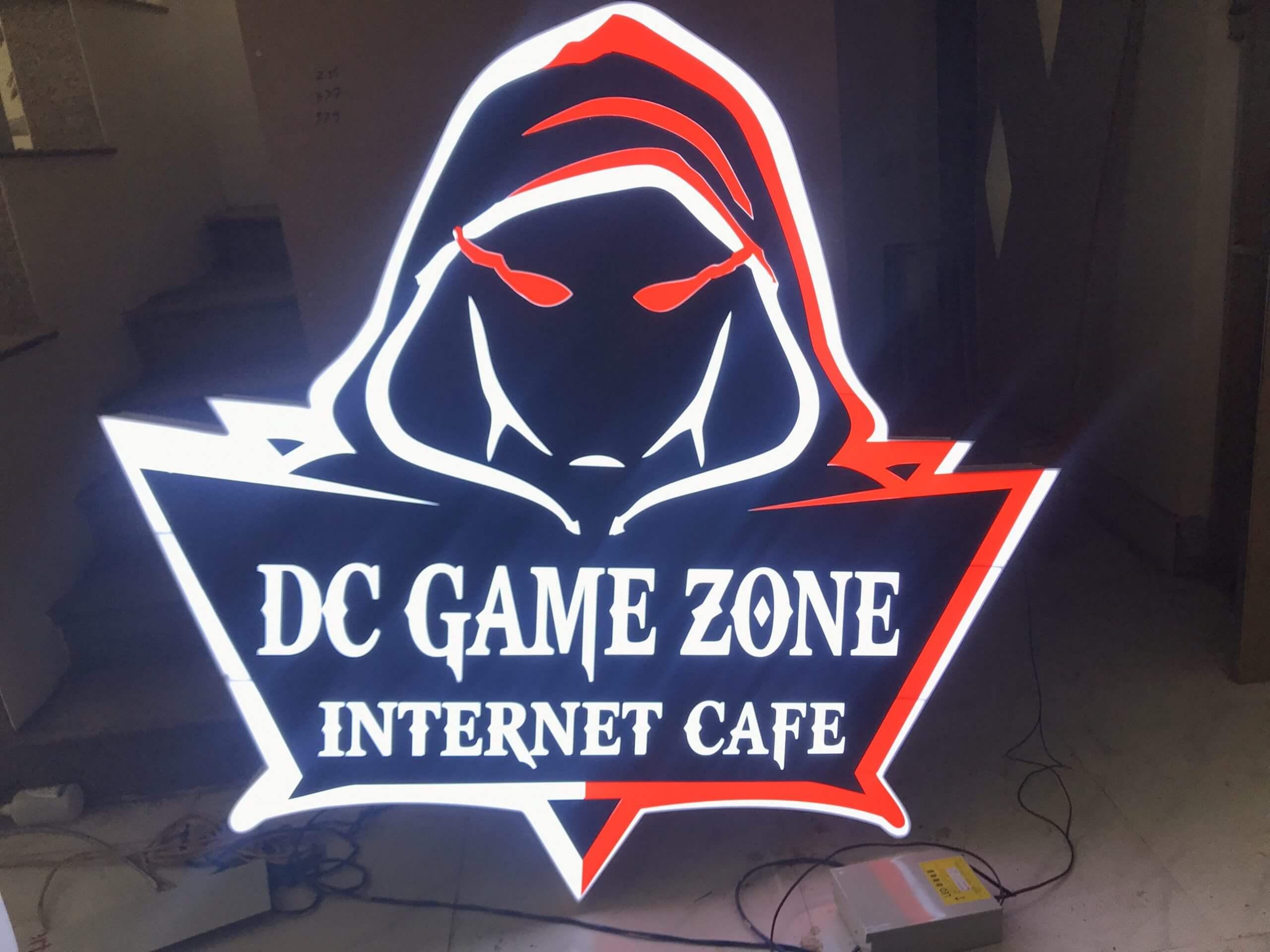 Thi công trọn gói quán GAME CAFE 4