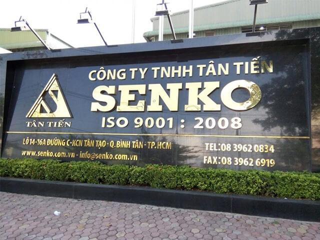 bảng hiệu inox tại Đà Nẵng