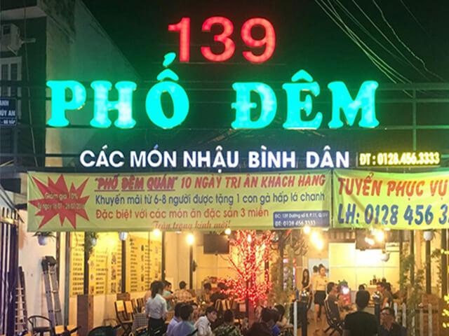 biển quảng cáo quán nhậu Đà Nẵng