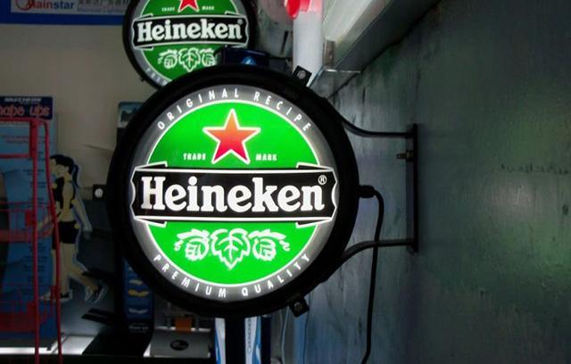 Hộp đèn quán bia