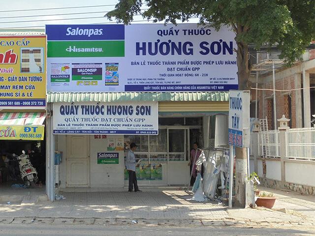 bảng quảng cáo tiệm thuốc tây đà nẵng