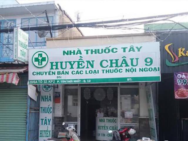 bảng tiệm thuốc tây